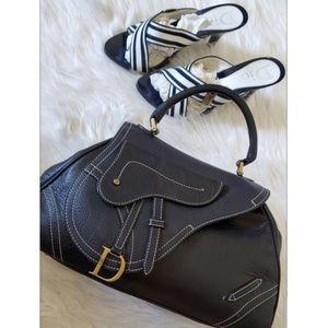 Dior Saddle Handbag